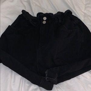 princess polly paper bag shorts size US 4
